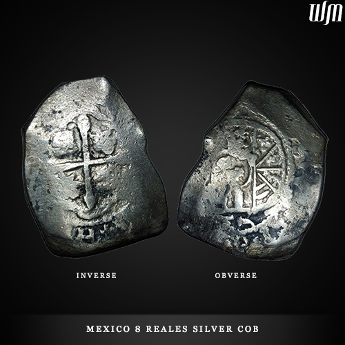wdwmkr Mexico 8 Reales Silver COB coin - WDWMKR | Widowmaker Custom Knives LLC