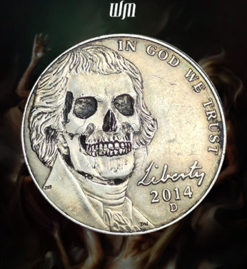 2014-D Smiling Skull Hobo Nickel front 20160520001